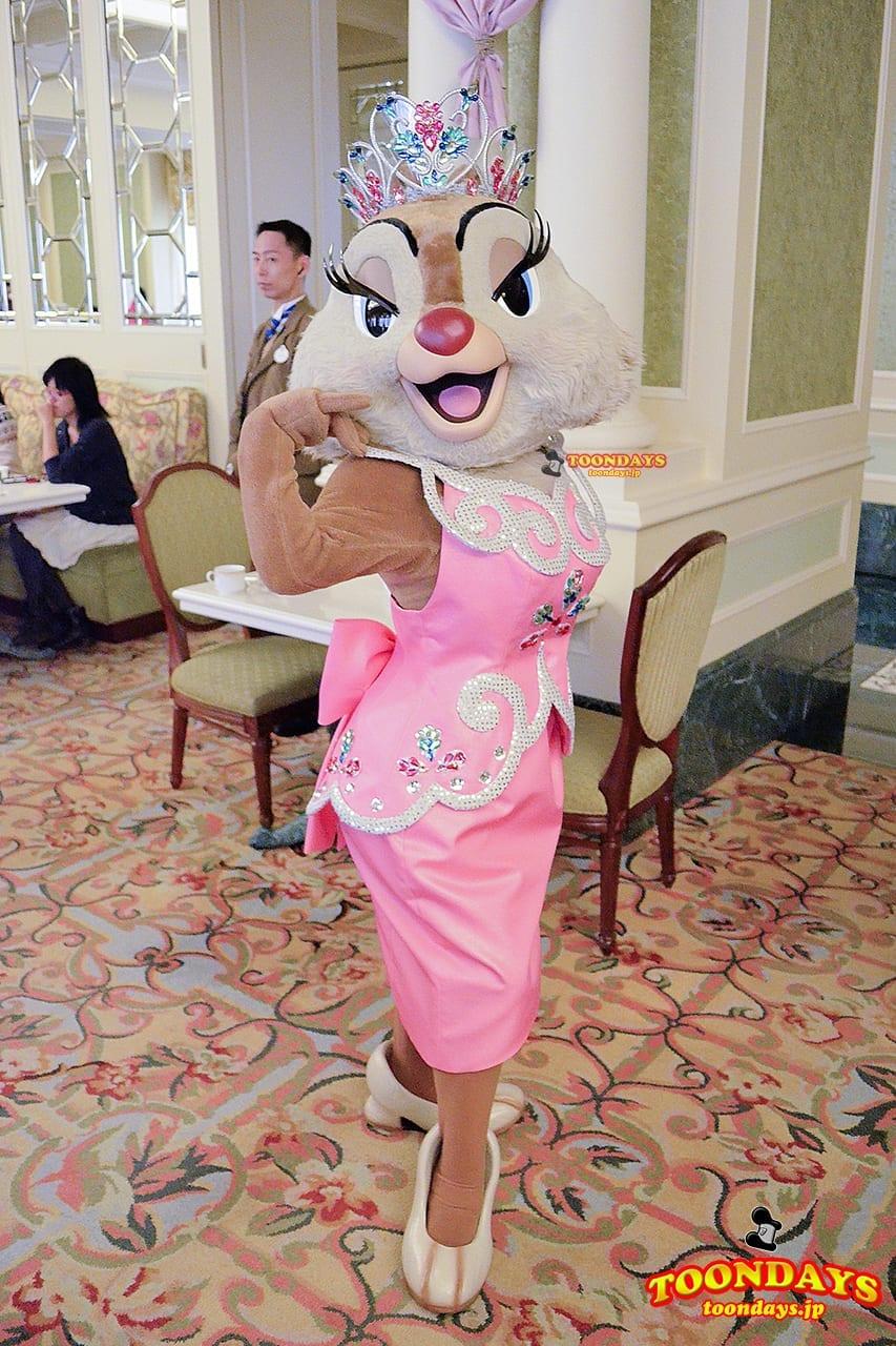 TDR 東京ディズニーランドホテル シャーウッドガーデン・レストラン グリーティング クラリス