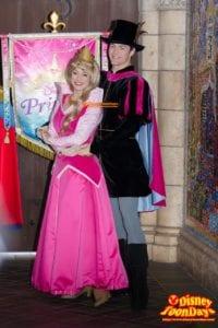 TDL ディズニー・プリンセス ~ようこそ、リトルプリンセス~ 2014 リトルプリンセス・プロセッション オーロラ姫 フィリップ王子