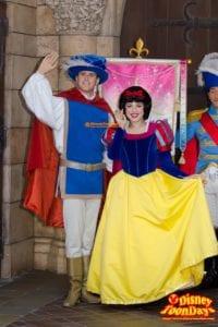 TDL ディズニー・プリンセス ~ようこそ、リトルプリンセス~ 2014 リトルプリンセス・プロセッション ザ・プリンス 白雪姫