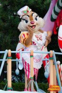 TDL クリスマス・ファンタジー 2013 ディズニー・サンタヴィレッジ・パレード クラリス