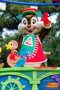 TDL クリスマス・ファンタジー 2013 ディズニー・サンタヴィレッジ・パレード デール