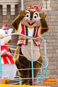 TDL ディズニー夏祭り 2014 おんどこどん チップ