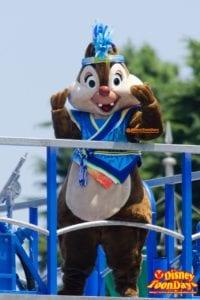 TDL ディズニー夏祭り 2014 雅涼群舞 デール
