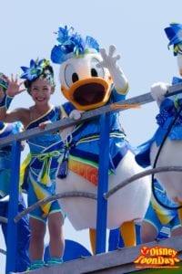 TDL ディズニー夏祭り 2014 雅涼群舞 ドナルドダック
