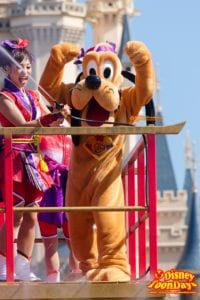 TDL ディズニー夏祭り 2014 雅涼群舞 プルート