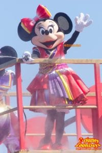 TDL ディズニー夏祭り 2014 雅涼群舞 ミニーマウス