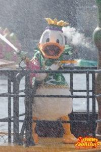 TDS ディズニー・サマーフェスティバル 2014 ミニーのトロピカルスプラッシュ ドナルドダック