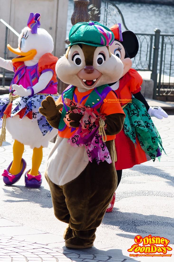 TDS ディズニー・ハロウィーン 2014 ウェルカム・スケルトン・フレンズ デール