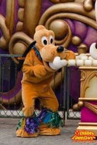 TDS ディズニー・ハロウィーン 2014 ウェルカム・スケルトン・フレンズ プルート