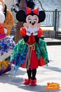 TDS ディズニー・ハロウィーン 2014 ウェルカム・スケルトン・フレンズ ミニーマウス