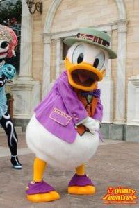 TDS ディズニー・ハロウィーン 2014 ニューヨーク・ハロウィーン・フォリーズ ドナルドダック