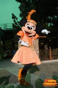 TDS ディズニー・ハロウィーン 2014 ニューヨーク・ハロウィーン・フォリーズ ミニーマウス