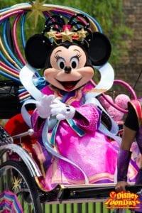 TDL ディズニー七夕デイズ 2014 七夕グリーティング ミニーマウス (2)