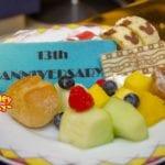 七夕の今日はアンバサダーホテルの誕生日!