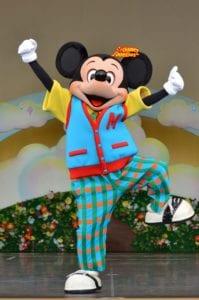 TDL パークファンパーティー ショーベース ミッキーマウス