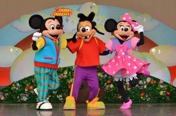 TDL トゥモローランド ショーベース パークファンパーティー ミッキーマウス マックス ミニーマウス