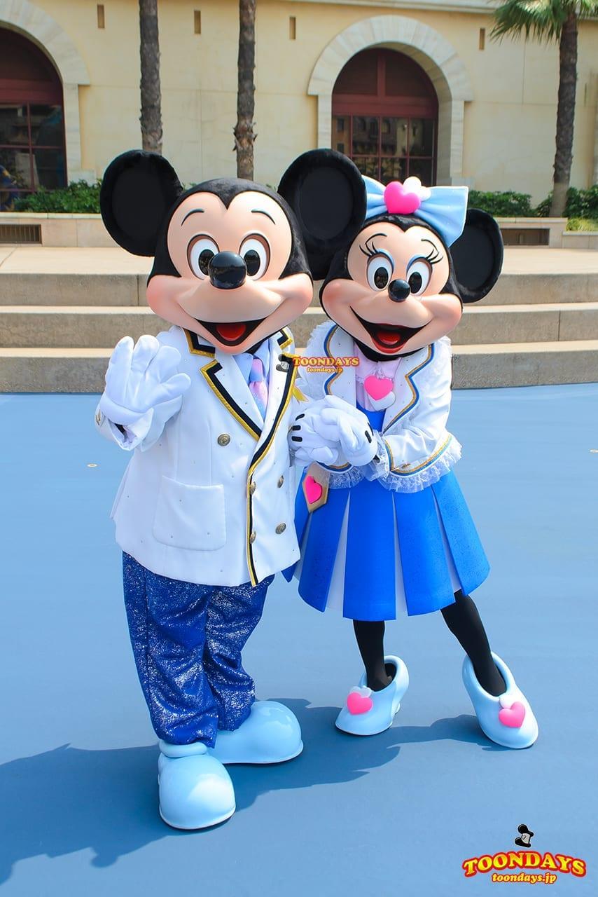 TDS ディズニーシープラザ グリーティング ミッキーマウス ミニーマウス