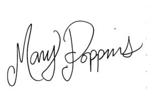 メリーポピンズ サイン