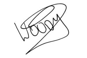 ウッディ サイン