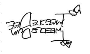 トゥイードルディー&トゥイードルダム サイン