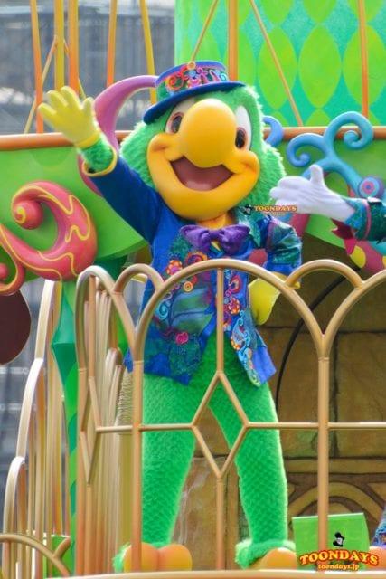 ホセ・キャリオカは『3人の騎士』の鳥キャラクター