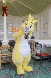 TDL アドベンチャーランド クリスタルパレスレストラン キャラクターブレックファスト グリーティング ラビット