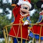 ディズニーサンタヴィレッジパレード ミッキーとミニーの新しい衣装