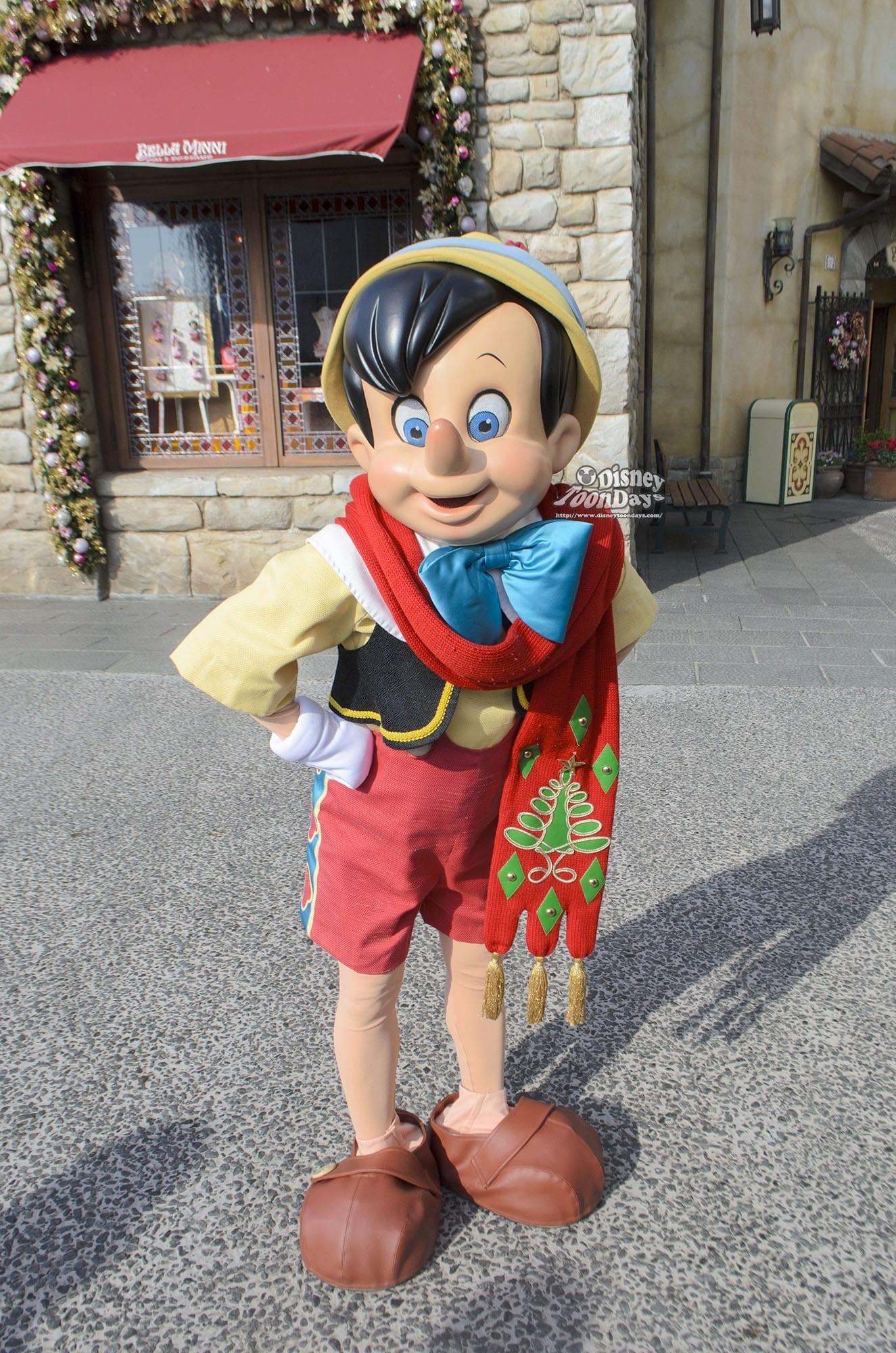 TDS メディテレーニアンハーバー グリーティング ピノキオ