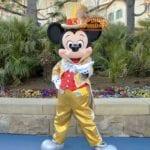 ミッキーマウス 30周年金コスグリーティング