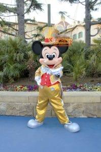 TDS ディズニーシープラザ グリーティング 30周年限定 ミッキーマウス