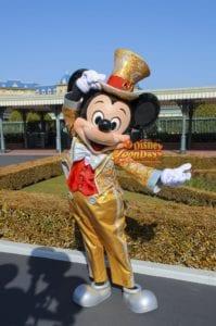 TDL エントランス グリーティング 30周年限定 ミッキーマウス