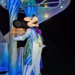 ディズニーJCB スペシャルナイトのナイトフォールグロウ ミッキー