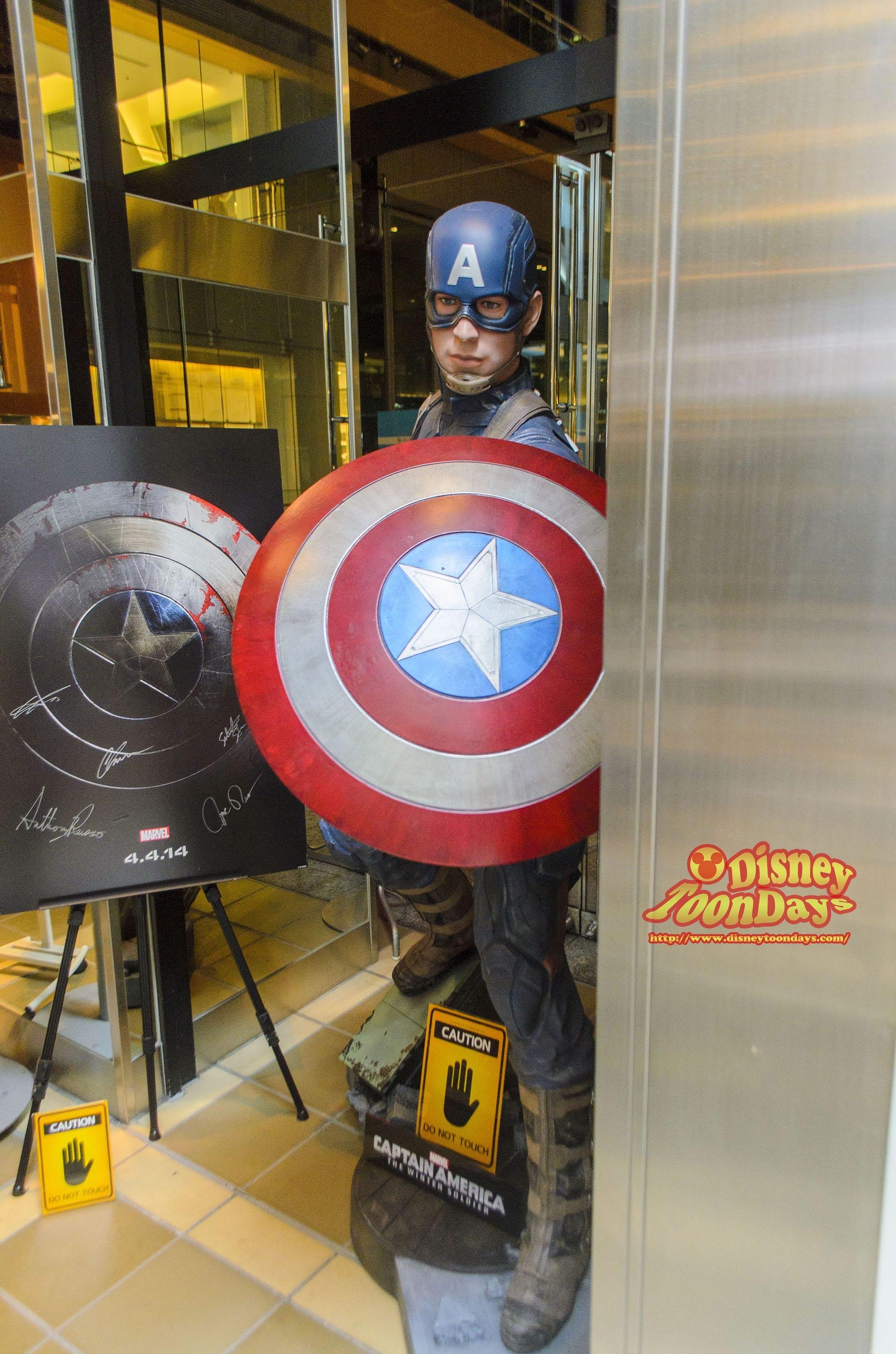 アメリカン・ヒーローズ・カフェ キャプテン・アメリカ