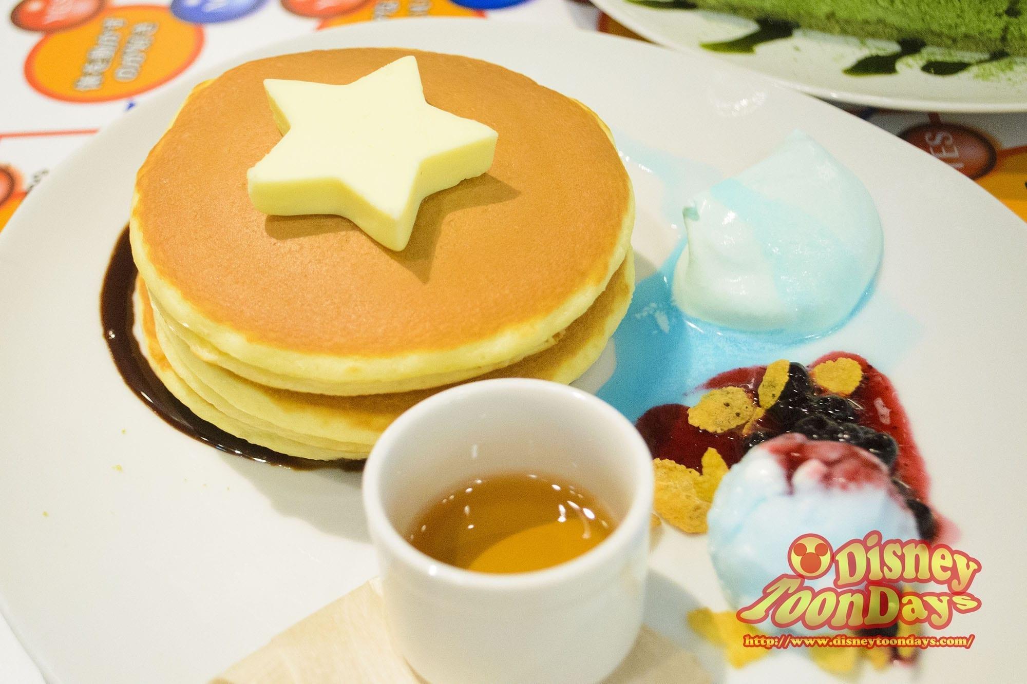 アメリカン・ヒーローズ・カフェ キャプテン・アメリカン・パンケーキ