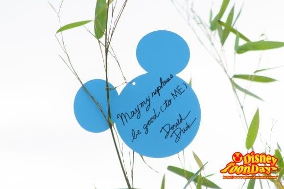 TDS ディズニー七夕デイズ 願い事 ドナルドダック