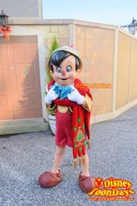 TDS メディテレーニアンハーバー グリーティング クリスマス ピノキオ