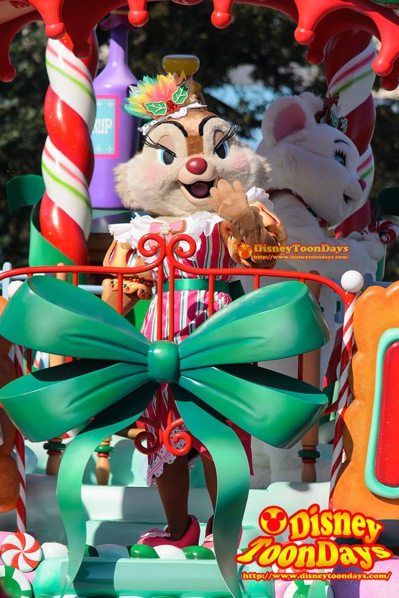 TDL クリスマスファンタジー 2014 ディズニーサンタヴィレッジパレード  クラリス