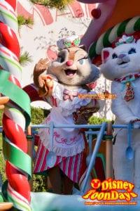 TDL クリスマスファンタジー 2012 ディズニーサンタヴィレッジパレード  クラリス