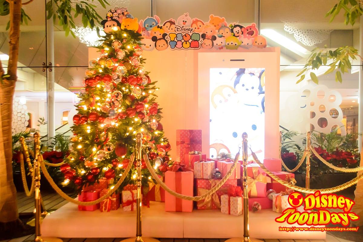 ブライトクリスマス2014 ディズニータイムレスストーリー 丸ビル 5階 ツムツムツリー