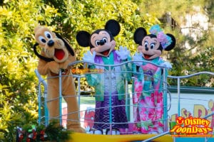TDL ニューイヤーズグリーティング 2015 ミッキーマウス ミニーマウス プルート