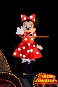 東京ディズニーランド・エレクトリカルパレード・ドリームライツのミニーマウス