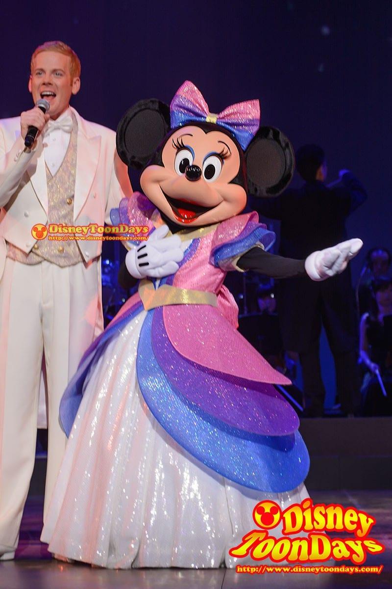 TDS バレンタインナイト 2015 ミニーマウス