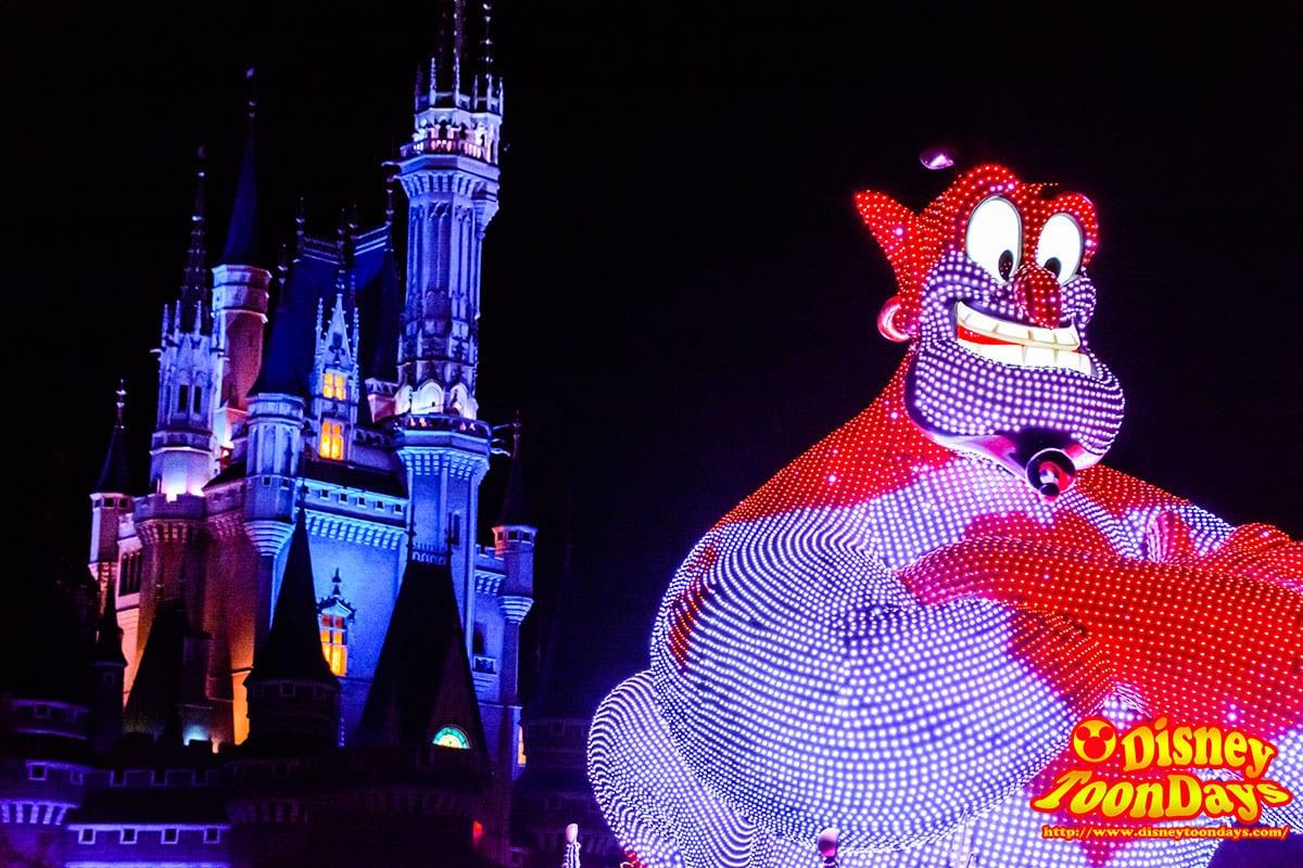 TDL 東京ディズニーランド・エレクトリカルパレード・ドリームライツ  ジーニー