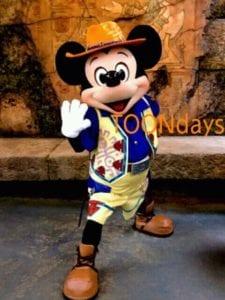 TDS ミッキー&フレンズグリーティングトレイル ミッキーマウス