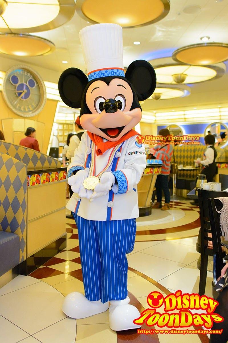 シェフミッキー で会えるミッキーマウス