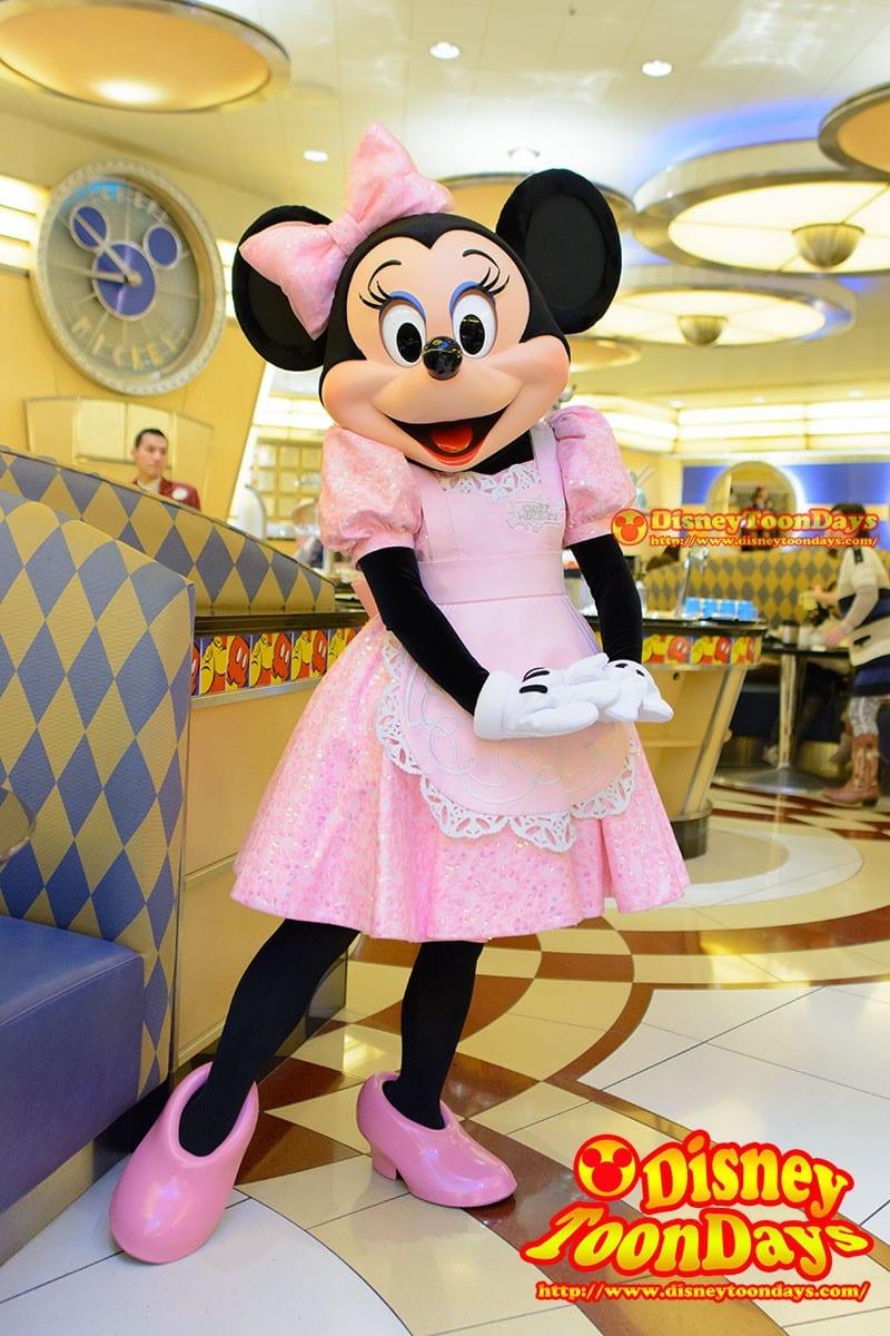 TDR アンバサダーホテル シェフミッキー グリーティング ミニーマウス