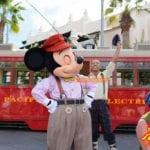 カリフォルニアディズニーランドリゾート ブエナビスタ ミッキーマウス