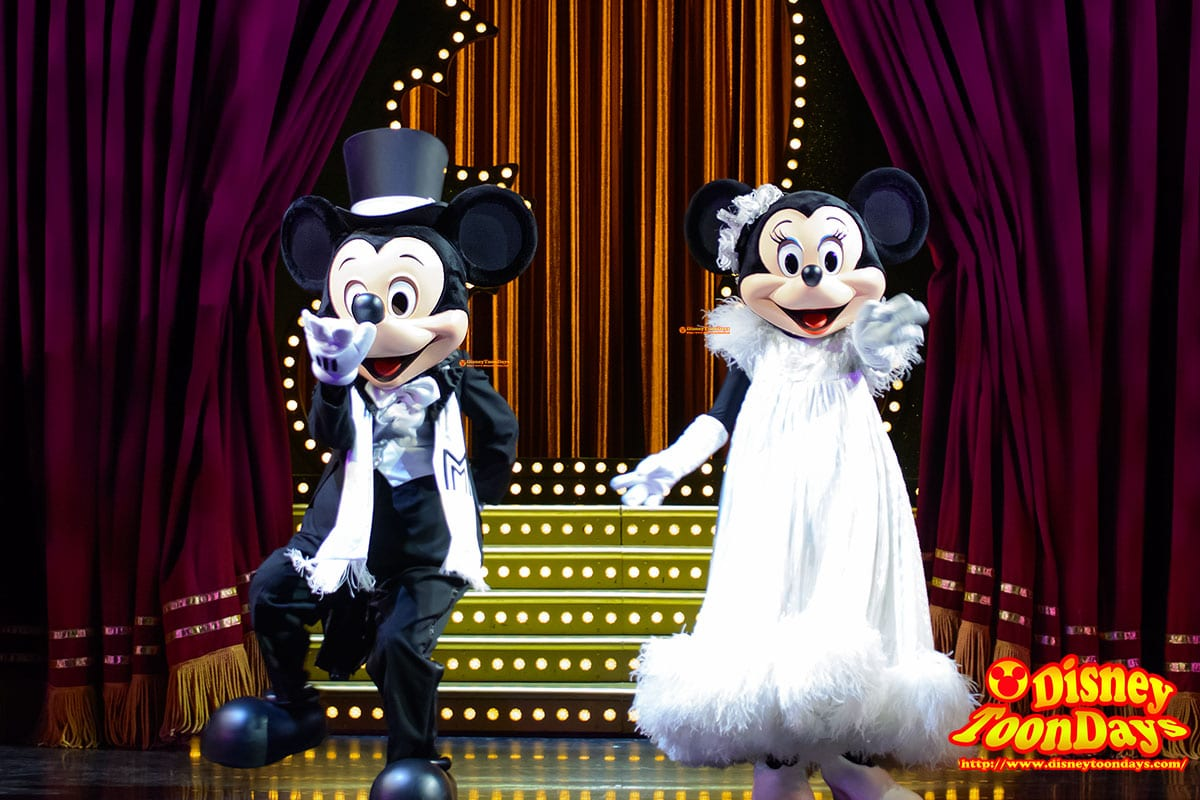 HKDL ゴールデンミッキー ミッキーマウス ミニーマウス