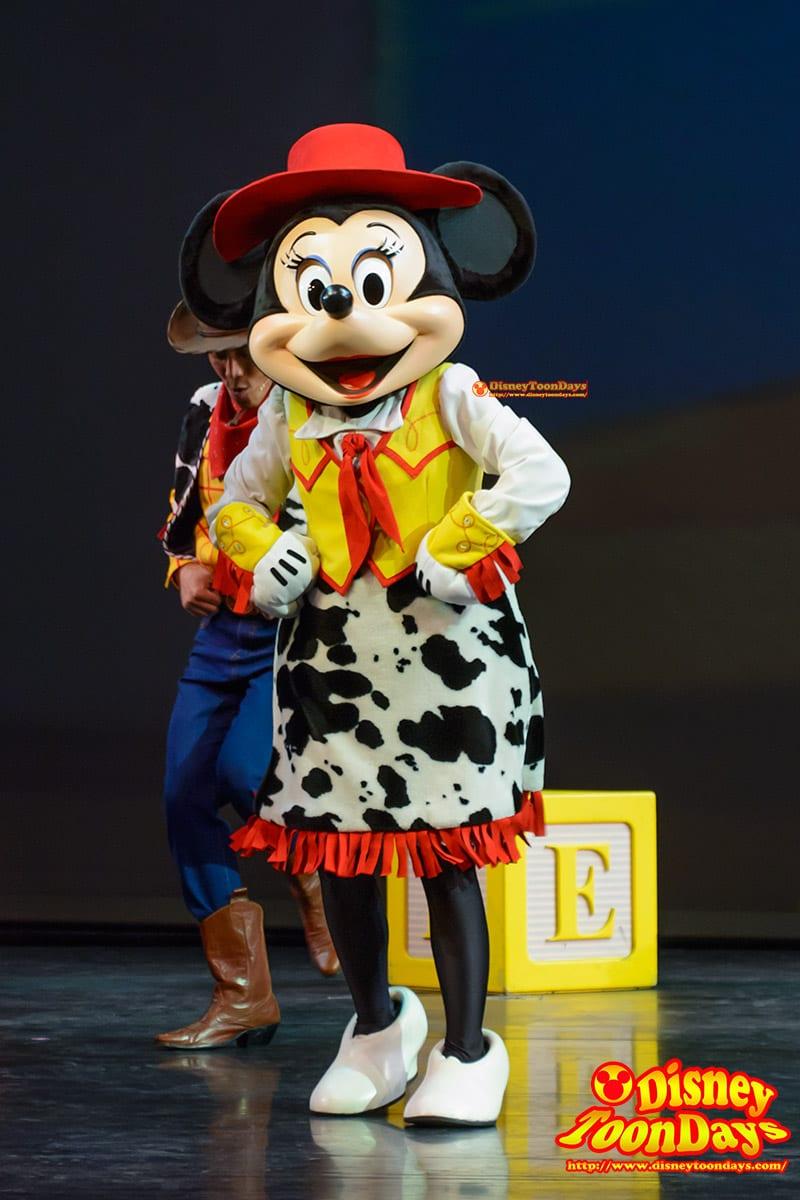 HKDL ゴールデンミッキー  ミニーマウス