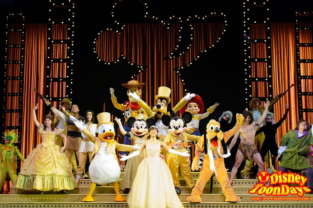 HKDL ゴールデンミッキー ミッキーマウス ミニーマウス プルート ドナルドダック グーフィー ベル カジモド ウッディ ジェシー